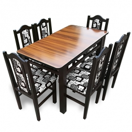 MM12 Set masă + 6 scaune
