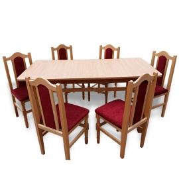 MM14 Set masă + 6 scaune