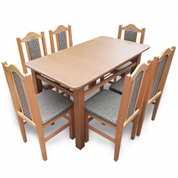MM15 Set masă + 6 scaune