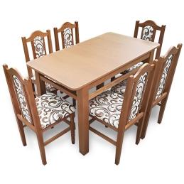 MM16 Set masă + 6 scaune