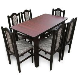MM17 Set masă + 6 scaune