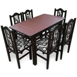 MM19 Set masă + 6 scaune