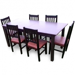 MM28 Masa extensibila + 6 scaune